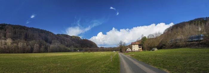 Strážní domek v Rakousích byl postaven na romantickém místě již kolem roku 1858