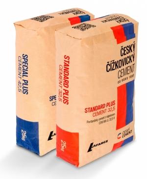 Novinka – Český čížkovický cement Standard Plus