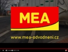 Odvodnění silnic, parkovišť, nástupišť a čističky na videu