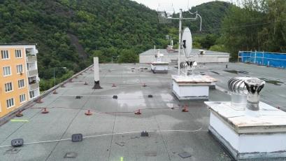 Střecha před rekonstrukcí