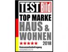 FAKRO uspělo v anketě časopisu TESTBild Top Marke Haus & Wohnen 2018