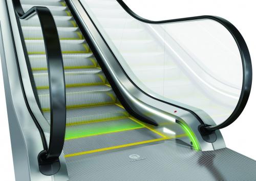 Eskalátor Schindler 9300 nabízí rozšířené bezpečnostní prvky pro ochranu cestujících