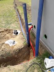 Wavin Ekoplastik dodal materiály na provizorní vodovod v Píšti
