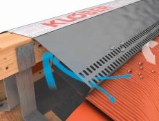 Větrací pás ROLL-FIX premium s kanálovou konstrukcí