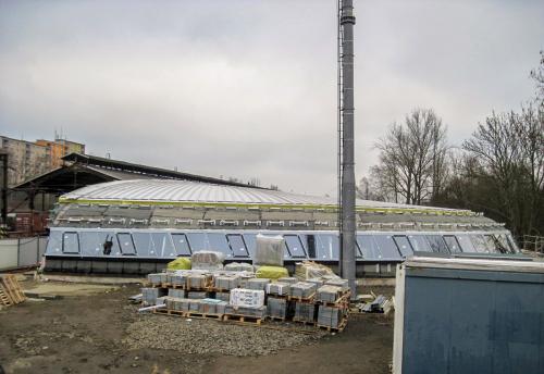 Obr. 5: Modernizace železniční stanice Karlovy Vary – výpravní budova