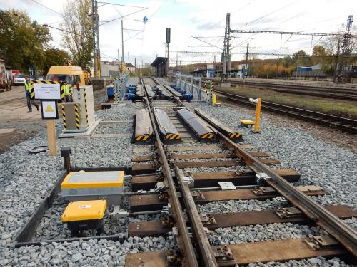Obr. 12: D8 – Modernizace spádoviště v železniční stanici Praha-Libeň