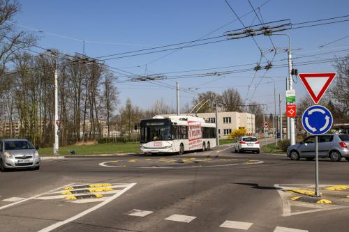 Obr. 14: Prodloužení trolejbusových tratí Trnová–Ohrazenice a Pardubičky–Zámeček Pardubice
