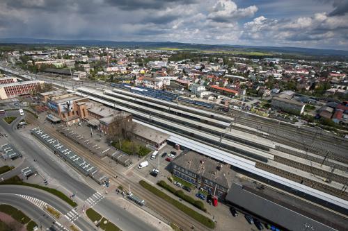 Obr. 16: Rekonstrukce železniční stanice Olomouc