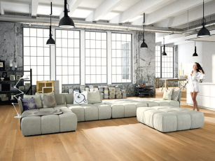 1FLOOR FORTE – nová kolekce třívrstvých dřevěných podlah od KPP, dekor 4