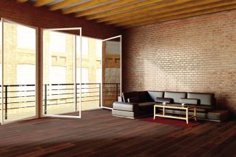 1FLOOR FORTE – nová kolekce třívrstvých dřevěných podlah od KPP, dekor 9