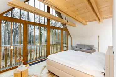 Jeden z pokojů pro hosty