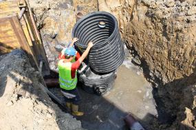 Šachty Tegra je možné bez obav použít i tam, kde je hladina podzemní vody vysoká a zasahuje i do konstrukce samotné šachty. Mají totiž vůči vztlakovým silám podzemní vody velmi vysokou odolnost.