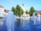 Lovosické náměstí krášlí fontána se světelnými efekty