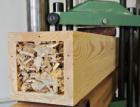 Dřevěné nosníky vyrobené s využitím odpadního materiálu