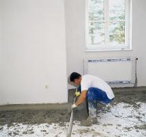 ...než se pustíme do vlastního provádění cementových potěrů