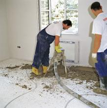 Minimální tloušťky pohybových spár jsou pro potěry bez podlahového topení 8 mm (platí pro rozměr desky do 8 m)