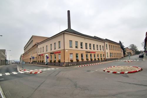 Stávající podoba administrativní budovy