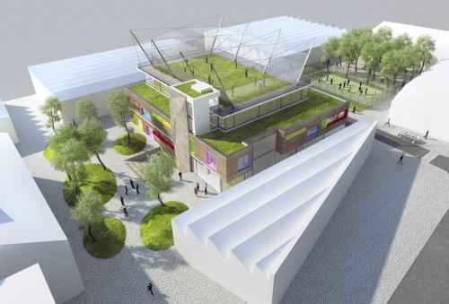 Vítězný návrh urbanisticko-architektonické soutěže