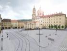 Budoucnost a minulost Malostranského náměstí přibližuje výstava