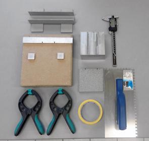 Obr. 4: Pomůcky pro metodiku měření sníženého skluzu
