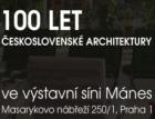 Výstava 100 let československé architektury