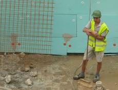 Počet pracovníků ve stavebnictví v pololetí vzrostl o 1,3 procenta