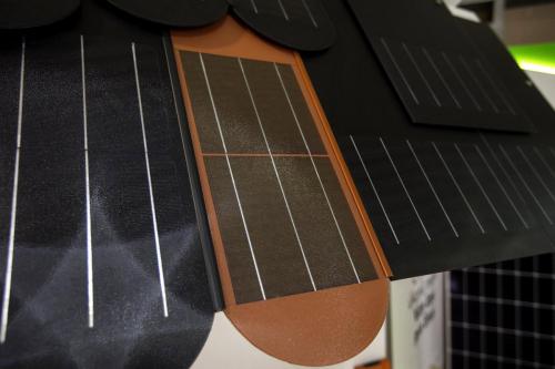 Biber 500 – solární tašky (střešní), vystavovatel Silver Planet, s. r. o.