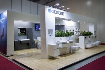 Stánek společnosti Geberit