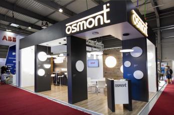 Stánek společnosti Osmont