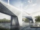 Praha vybrala návrh mostu přes Vltavu mezi Prahou 4 a Prahou 5