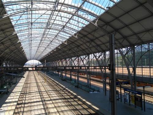 Rekonstrukce zastřešení haly železniční stanice Praha Hlavní nádraží