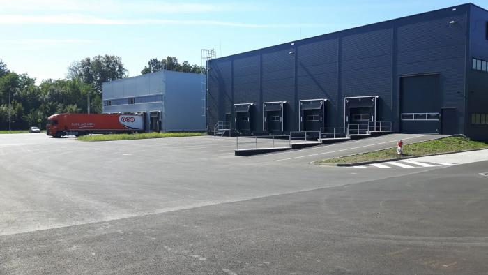 Společnost HSF System staví v ostravské průmyslové zóně NP AREA