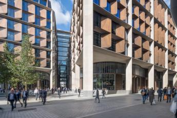 Evropská centrála Bloomberg v Londýně, foto Nigel Young