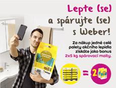 Prodejní akce Lepte (se) a spárujte (se) s Weber