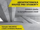 Studentská architektonická soutěž Unikátní stavba na komplikovaném místě