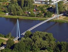 Prestižní ocenění pro lávku z UHPC v Čelákovicích
