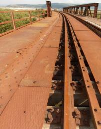 Původní stav mostu