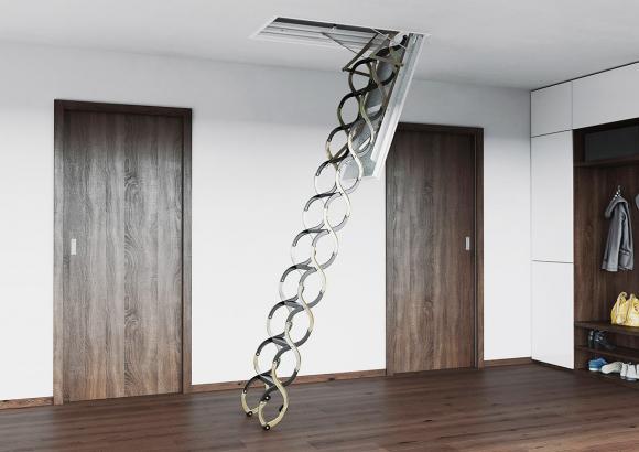 Stahovací schody LUSSO