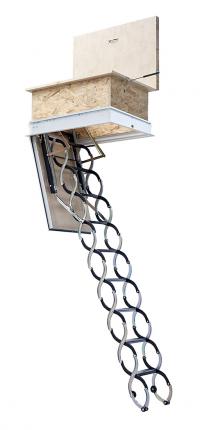 Stahovací schody KOMBO