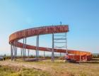 V Kobylí otevřeli unikátní kruhovou rozhlednu bez schodů
