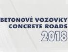 Konference Betonové vozovky 2018