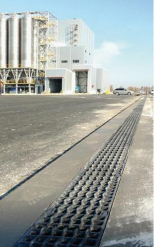 Odvodnění ploch u nejmodernějšího výrobního závodu společnosti Nexen Tire mimo asijský kontinent