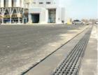Odvodnění ploch u nejmodernějšího výrobního závodu na pneumatiky