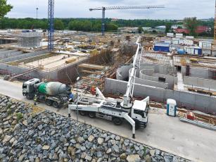 Výstavba Ústřední čistírny odpadních vod, Praha