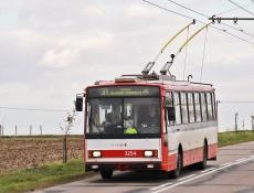 V Brně začala stavba trolejbusové tratě v Líšni na Jírovu