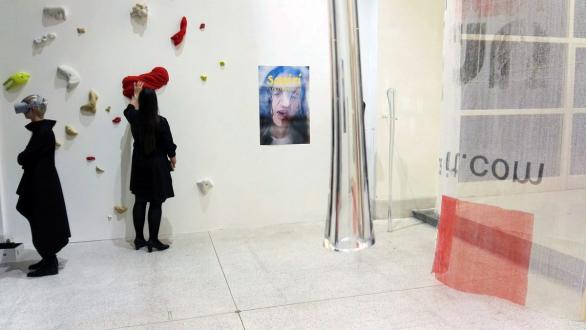 Umělecká instalace Lukáše Hofmanna