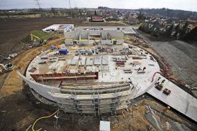 Obr. 6: Stavba po dokončení betonových konstrukcí