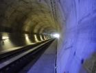 Novým tunelem u Plzně, nejdelším v ČR, projel první vlak s lidmi