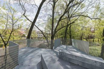 Obnova nábřeží řeky Loučné v Litomyšli
