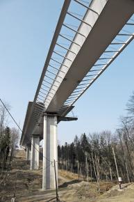 Obr. 5: Pole po vysunutí konstrukce